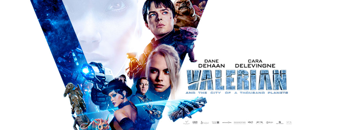 Slider Image for Valerian and the City of a Thousand Planets