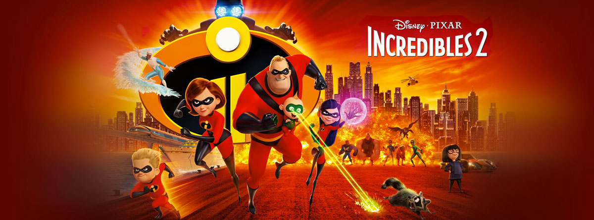 Slider Image for The Incredibles 2