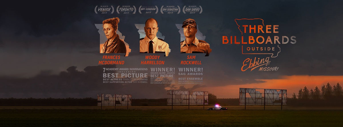 Slider Image for Three Billboards Outside Ebbing, Missouri