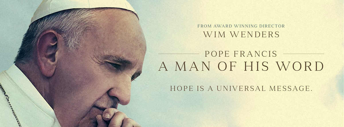 Slider Image for Pope Francis - A Man Of His Word