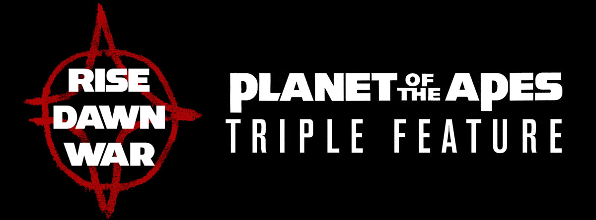 Slider Image for Planet of the Apes Triple Feature