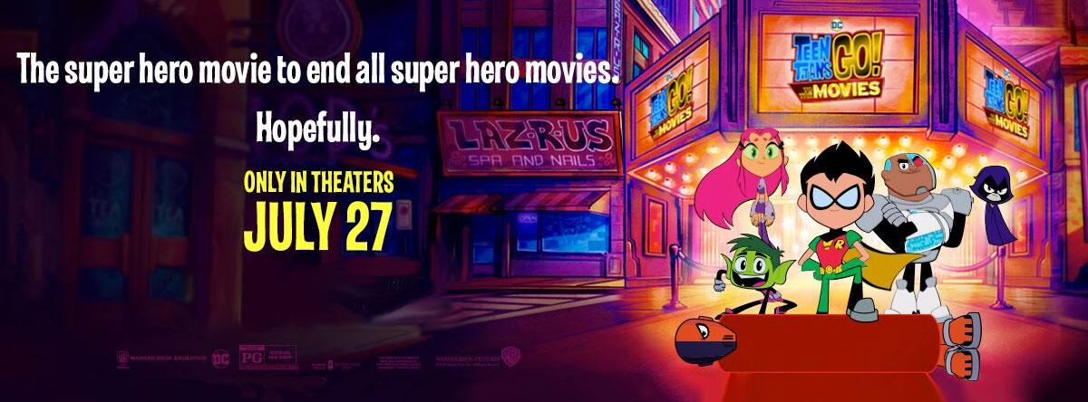 Slider Image for Teen Titans GO! to the Movies