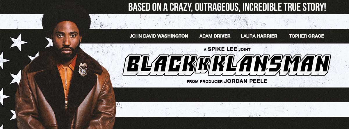 Slider Image for BlacKkKlansman