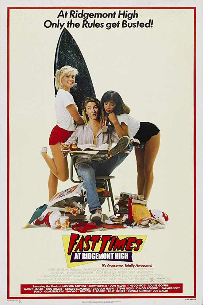 Poster for Fast Times at Ridgemont High