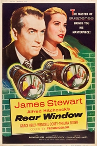 Poster of Rear Window (1954)