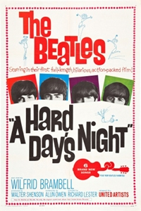 Poster of Hard Day's Night (1964), A