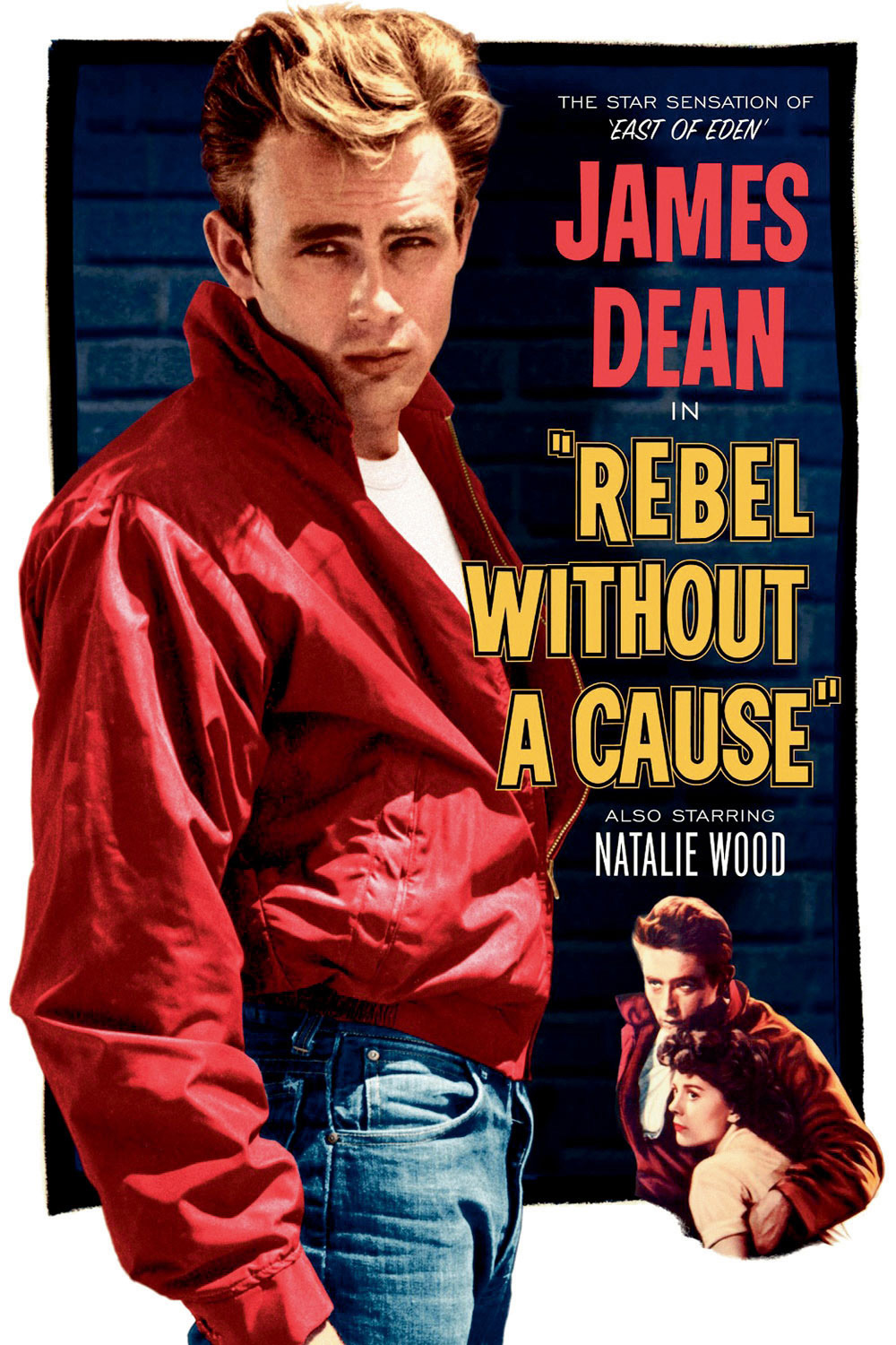 Poster of Rebel Without a Cause