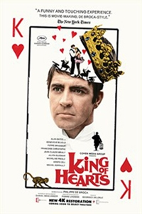 Poster of King of Hearts (1966)