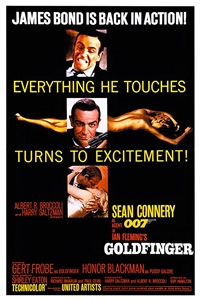 Poster for Goldfinger