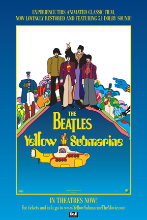 Poster for Yellow Submarine