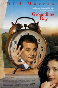 Poster for Groundhog Day