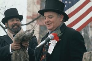 Groundhog Day cast photo