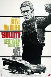 Bullitt (1968) Poster