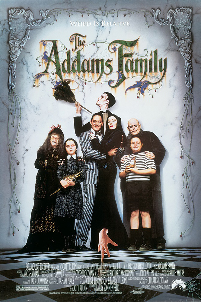 Poster for The Addams Family (1991)