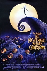 Poster of Tim Burtons The Nightmare Before Chr...