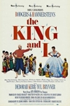 The King and I (1956) Poster