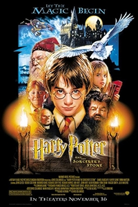 Poster of Harry Potter and the Sorcerer's Stone...
