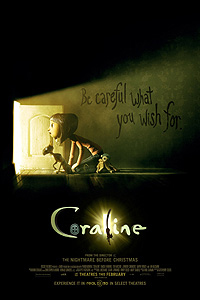 Poster for Coraline 3D
