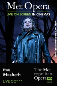 The Metropolitan Opera: Macbeth Poster