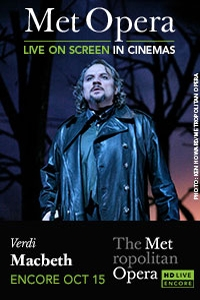 The Metropolitan Opera: Macbeth Encore