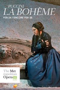 Poster for The Metropolitan Opera: La Boheme ENCORE