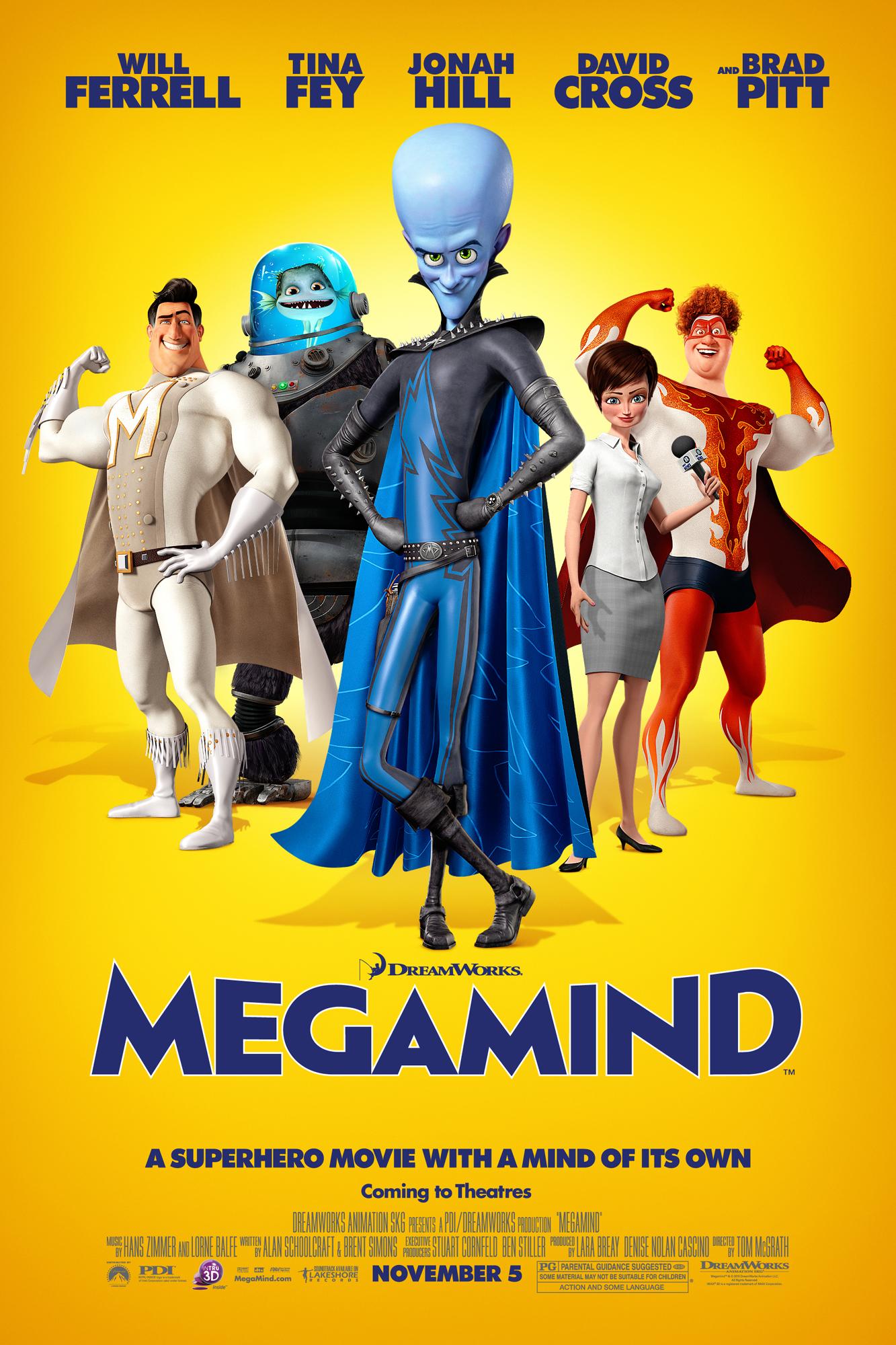 Poster of Megamind