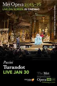 Poster for The Metropolitan Opera: Turandot