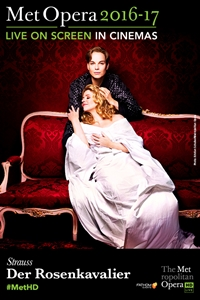 Poster for The Metropolitan Opera: Der Rosenkavalier