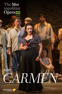 Poster of The Met Opera: Carmen