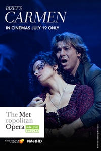 Poster of Carmen Met Summer Encore
