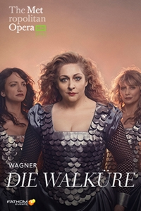 The Met Opera: Die Walküre Poster