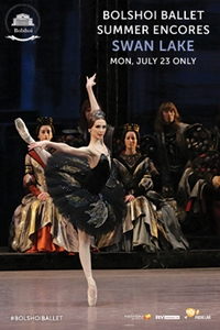 Poster of Bolshoi Ballet: Swan Lake Encore