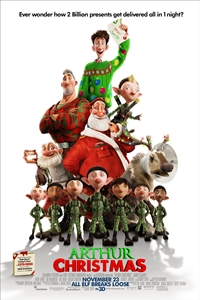 Poster for Arthur Christmas