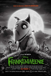 Frankenweenie: An IMAX 3D Experience Movie Poster