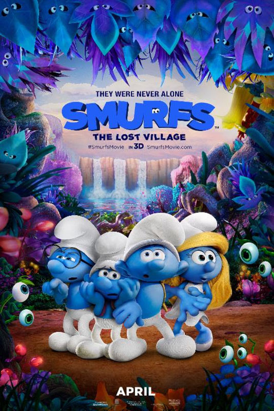 Poster for Smurfs: The Lost Village