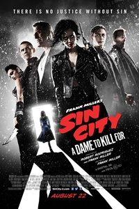 Frank Miller's Sin City: A Dame to Kill For 3D Poster