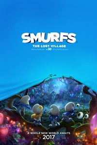Poster for Smurfs: The Lost Village in 3D