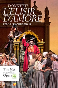 Poster for The Metropolitan Opera: L'Elisir d'Amore ENCORE