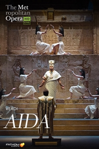 Poster of The Metropolitan Opera: Aida ENCORE