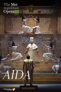 Poster of The Met Opera: Aida