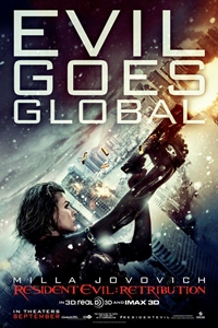 Resident Evil: Retribution an IMAX 3D Experience Movie Poster