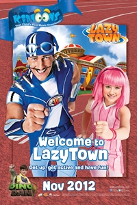 Kidtoons: Welcome to LazyTown