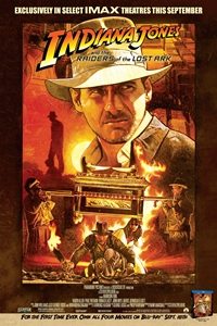 Poster of Indiana Jones and The Raiders of the Lost Ark: The