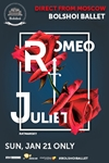 Bolshoi Ballet: Romeo and Juliet Poster