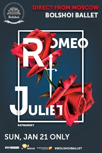 Poster for Bolshoi Ballet: Romeo and Juliet