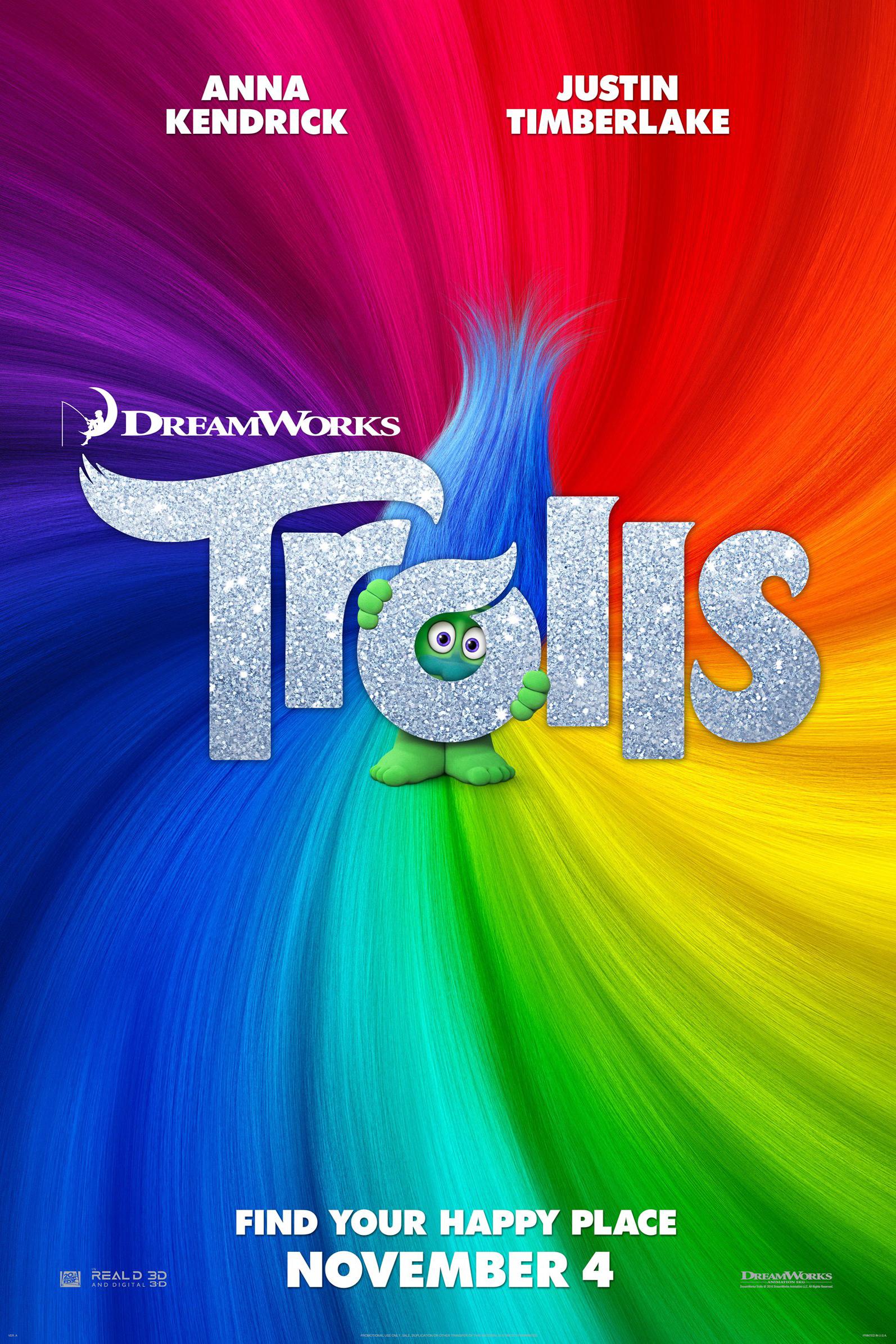 Poster for Trolls