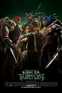 Poster of Teenage Mutant Ninja Turtles 3D