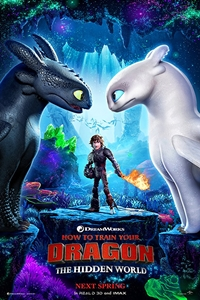 Poster of How to Train Your Dragon: The Hidden World 3D