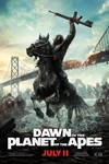 Dawn of the Planet of the Apes in 3D