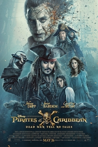 Poster of Pirates of the Caribbean: Dead Men Te...